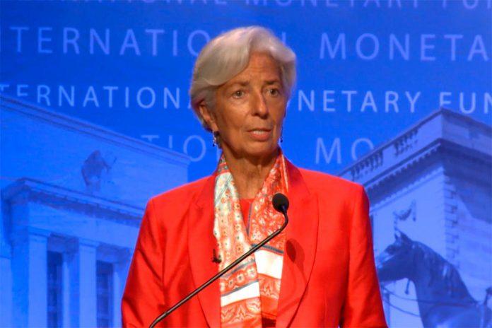 Christine Lagarde, Diretora-geral do Fundo Monetário Internacional