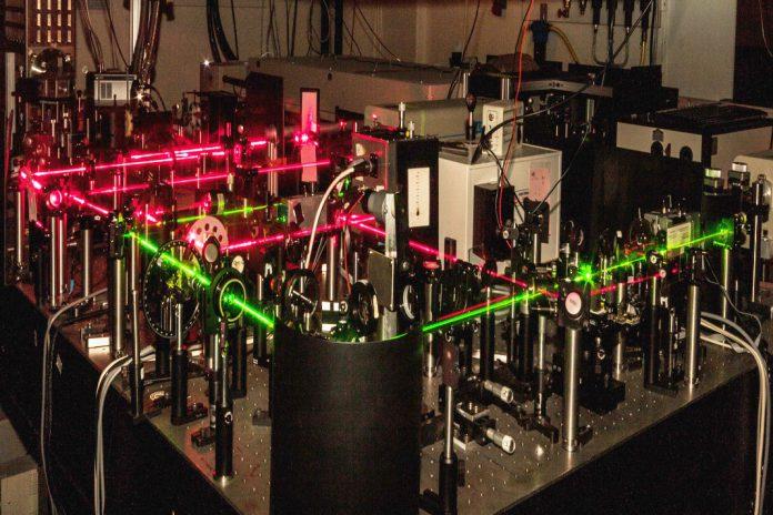 Laboratório de investigação em Laser, Universidade de Lund.