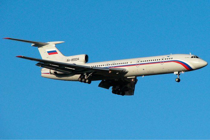 Queda de avião russo no Mar Negro sem sobreviventes