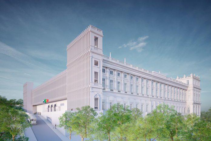 Palácio Nacional da Ajuda vai ser concluído