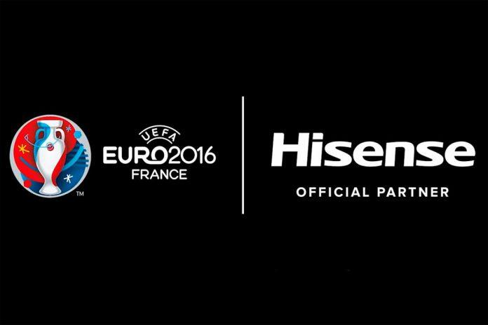 Hisense é primeira empresa chinesa a patrocinar a UEFA