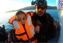 Policia Marítima resgata refugiados
