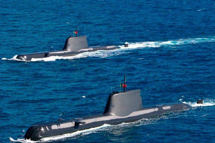 Ministro da Defesa autoriza 47,99 M€ para revisão dos submarinos