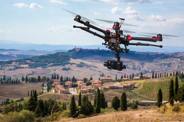Mercado Global de aplicações comerciais de drones valem 112 mM€