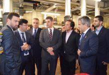 Ministro da Economia visita projeto de eficiência energética no Hospital de Braga