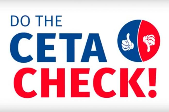 Campanha 'Do the CETA Check!'
