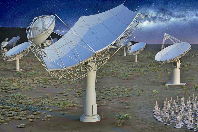 Radiotelescópio SKA