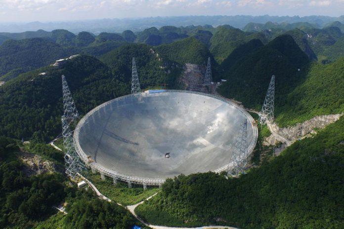 Maior radiotelescópio do mundo já está em escuta de vida extraterrestre