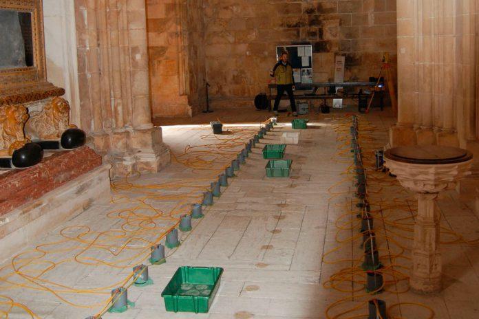 Mosteiro da Batalha, estudo geofísico