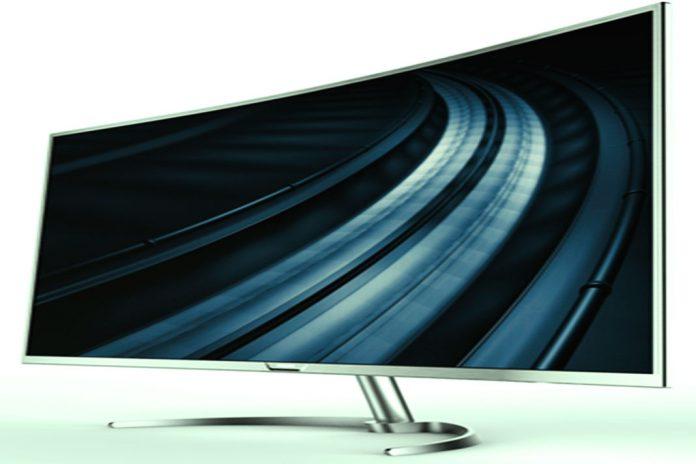 Philips apresenta na IFA maior ecrã curvo 4K do mercado