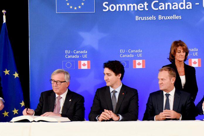 Acordo de Comércio Livre entre União Europeia e Canadá já está assinado