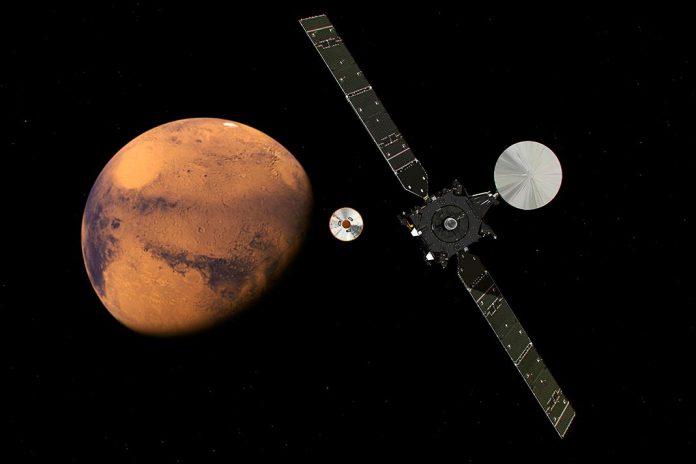 Estamos a chegar a Marte