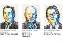 Nobel da Química para criadores de máquinas moleculares