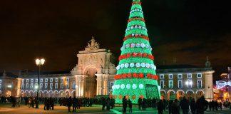Lisboa já acedeu as luzes de Natal