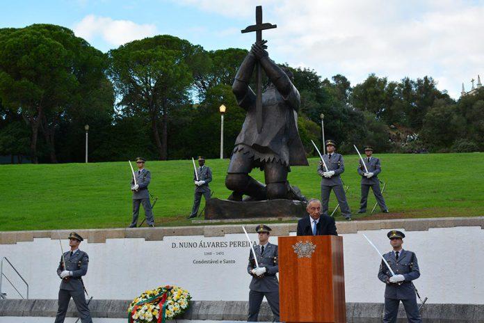 Estátua de D. Nuno Alvares Pereira inaugurada no Restelo