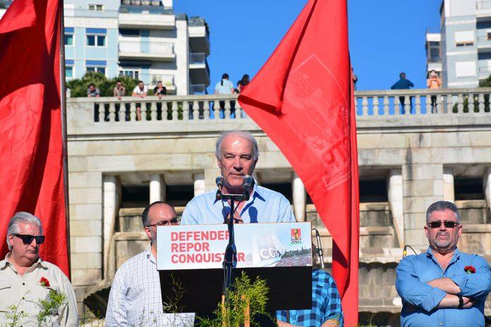 Arménio Carlos, Secretário-Geral da CGTP, 1º de maio