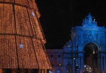 Lisboa ilumina-se para o Natal