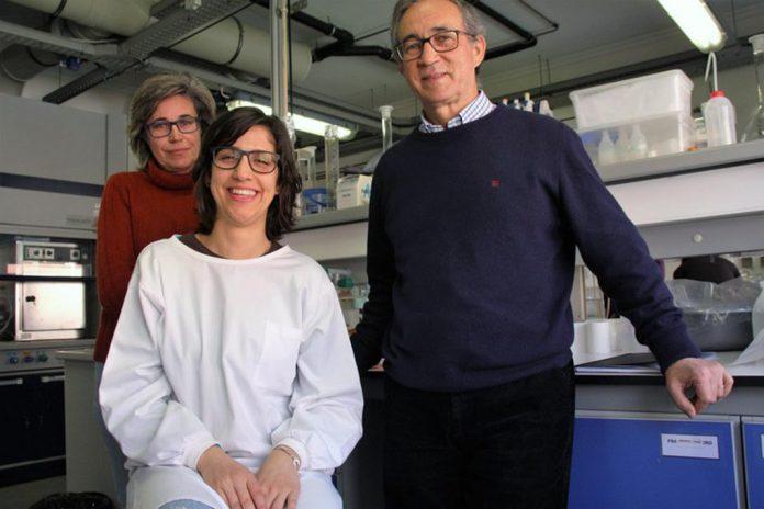 Investigadores da UA: Eduarda Santos, Joana Leal e Valdemar Esteves