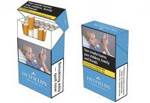 Novo desenho de embalagem de tabaco