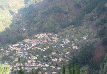 Paisagem da ilha da Madeira