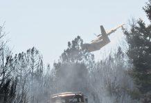 Operações de combate a incêndios