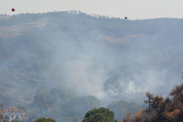 Incêndios na região centro