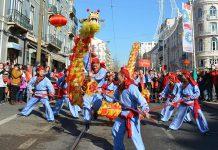 Ano Novo Chinês celebrado em Lisboa