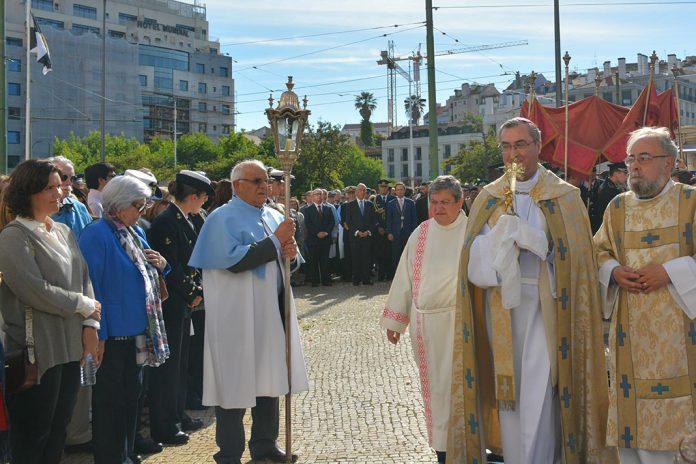 Procissão de Nossa Senhora da Saúde em Lisboa