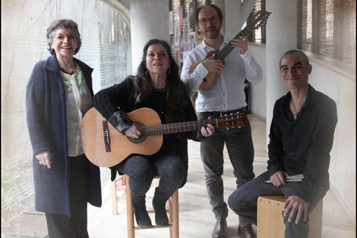 Isabel e Tita Parra, Juan Sánchez e Greco Acuña