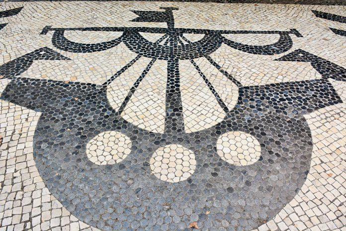 Calçada em Lisboa