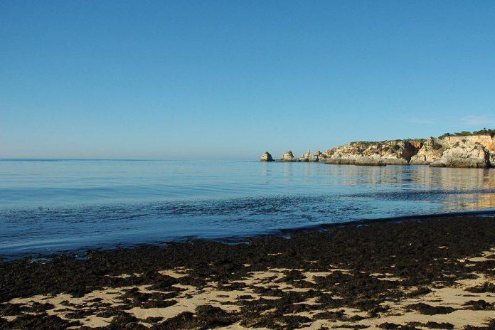 Oceano Atlantico, sul de Portugal