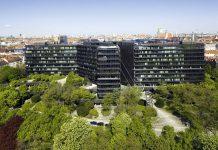 Edíficio Sede do Instituto Europeu de Patentes, em Munique