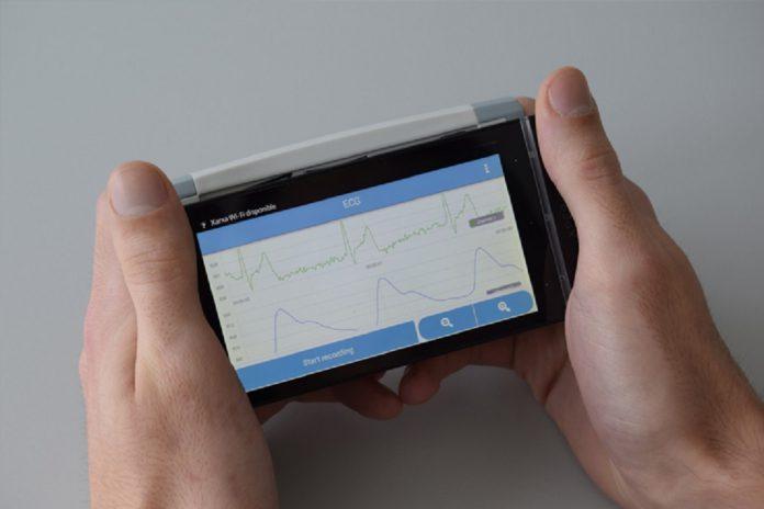 Eletrocardiógrafo patenteado pela UPC