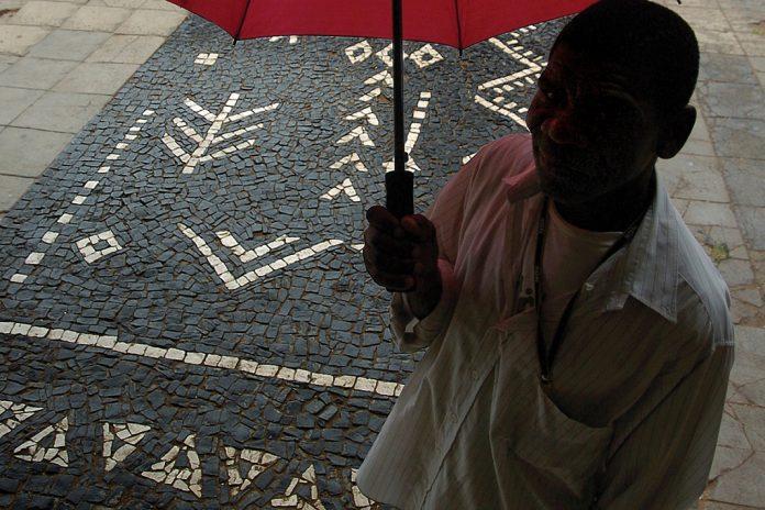 Calçada portuguesa em Moçambique