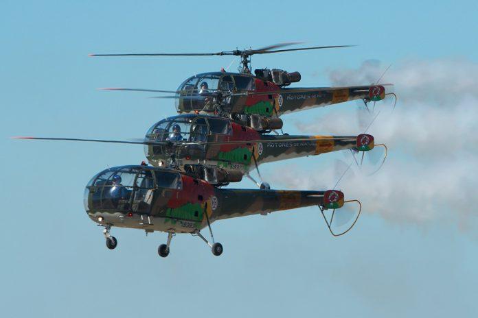 Helicópteros Alouette III