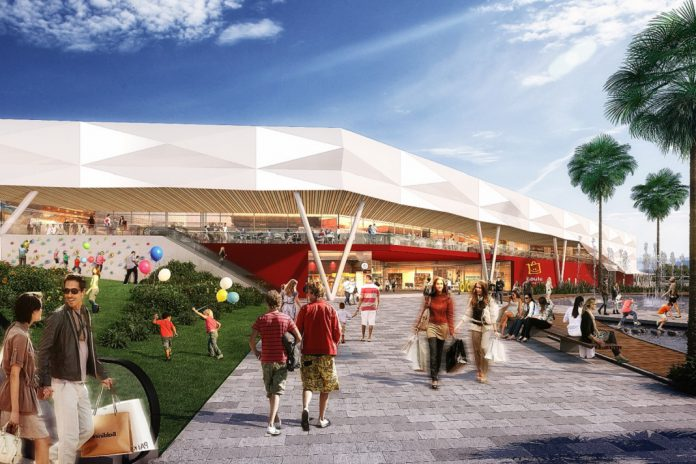 Futuro MAR SHOPPING Algarve, em Loulé