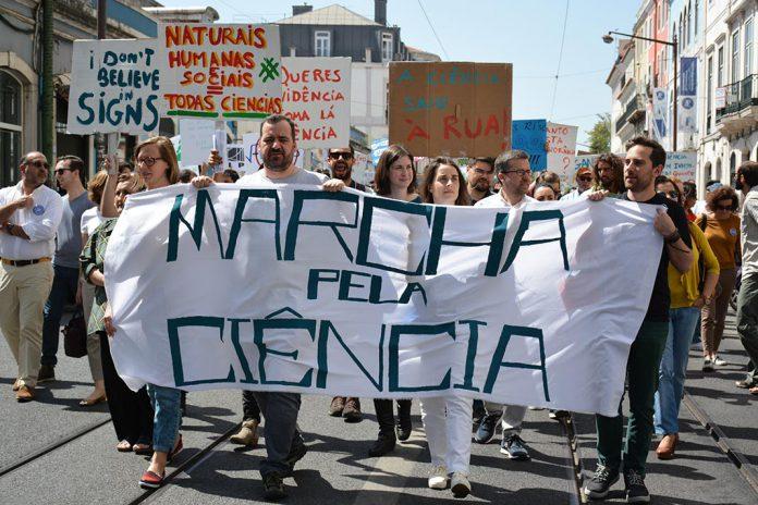 Marcha pela Ciência em Lisboa