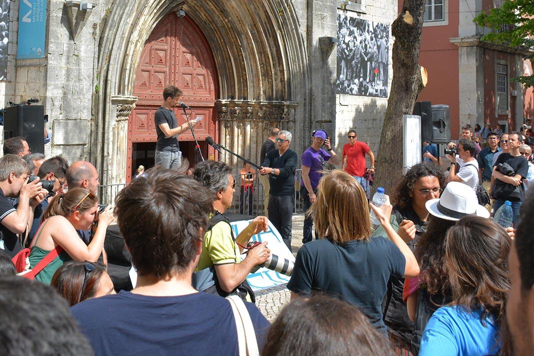 Gil Costa na Marcha pela Ciência