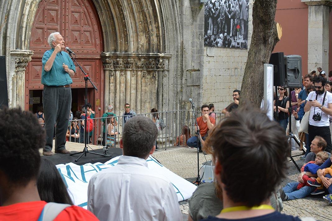 Alexandre Quintanilha na Marcha pela Ciência