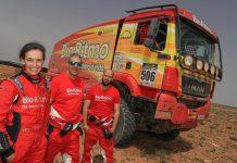 Equipa de Elisabete Jacinto no Morocco Desert Challenge