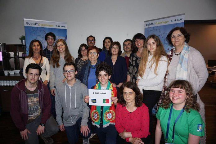 Participantes portugueses na EUSO 2017