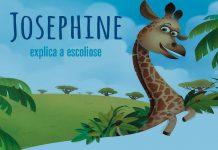 Imagem da campanha 'Josephine explica a escoliose'