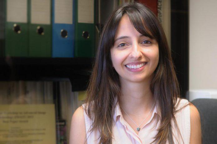 Caroline Conti, vendedora do Prémio Científico IBM 2016