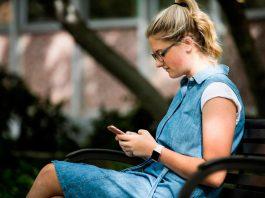 Uso de aplicações de mensagens