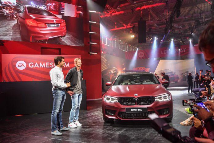 BMW M5 apresentado na Gamescom
