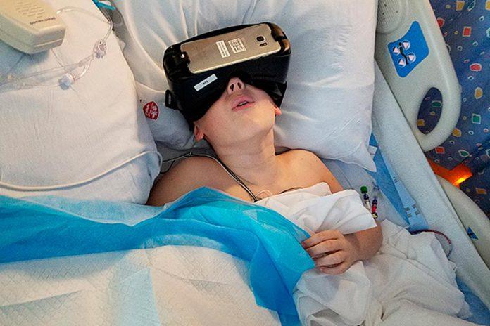 Realidade Virtual nos cuidados médicos