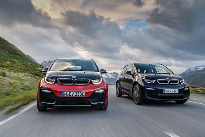Novos BMW i3 e BMW i3s