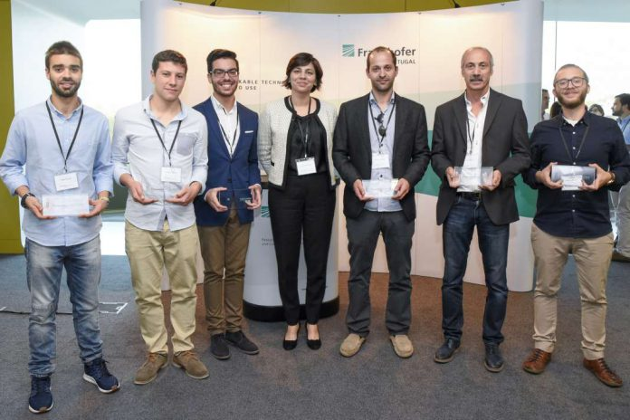 Premiados no Fraunhofer Portugal Challenge 2017