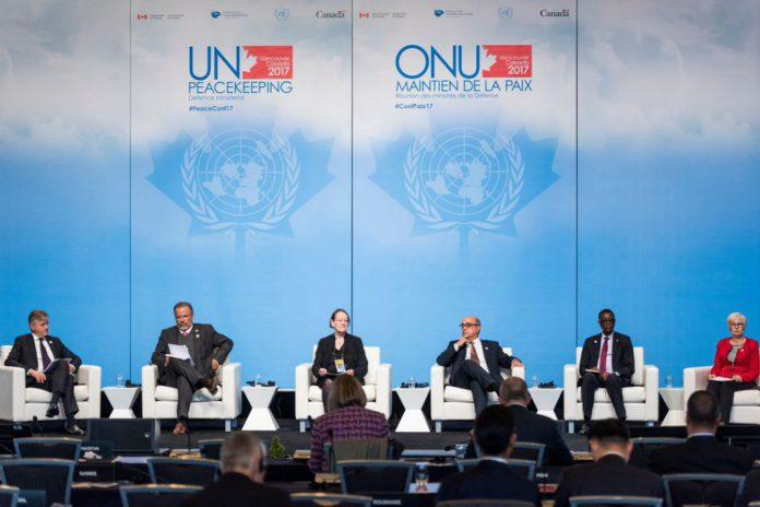Ministro da Defesa Nacional na reunião Ministerial das Nações Unidas, no Canadá