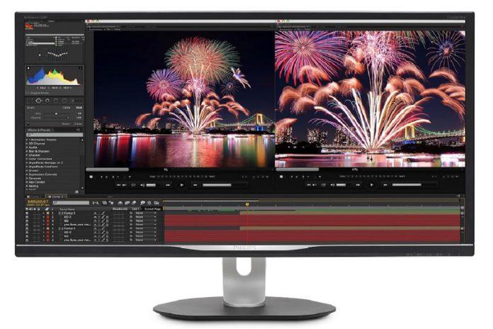 Monitor Philips com Adobe RGB, QHD e USB-C